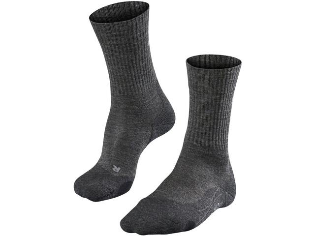 Falke TK2 Wool Skarpetki trekkingowe Mężczyźni, smog